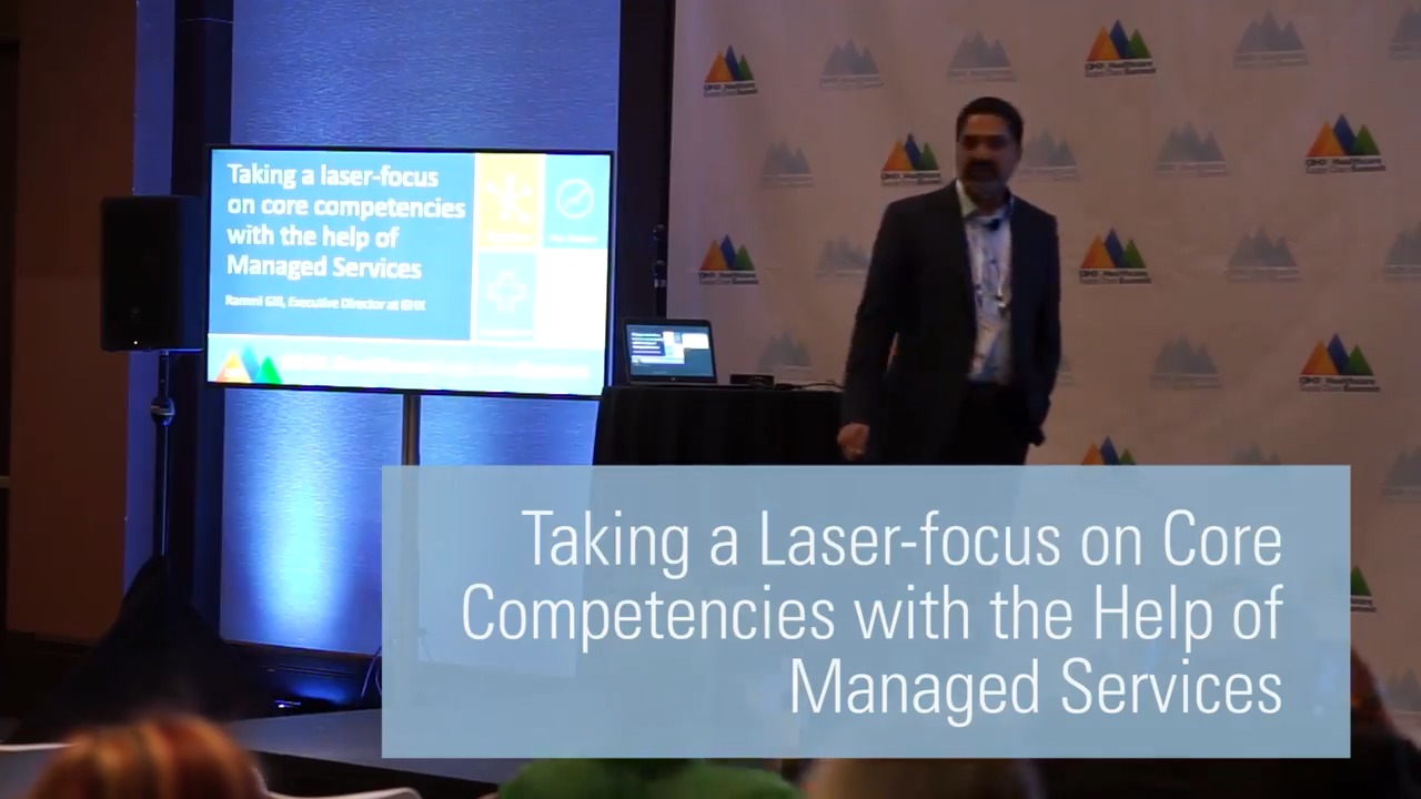Taking a Laser-focus on Core Competencies with the Help of Managed Services