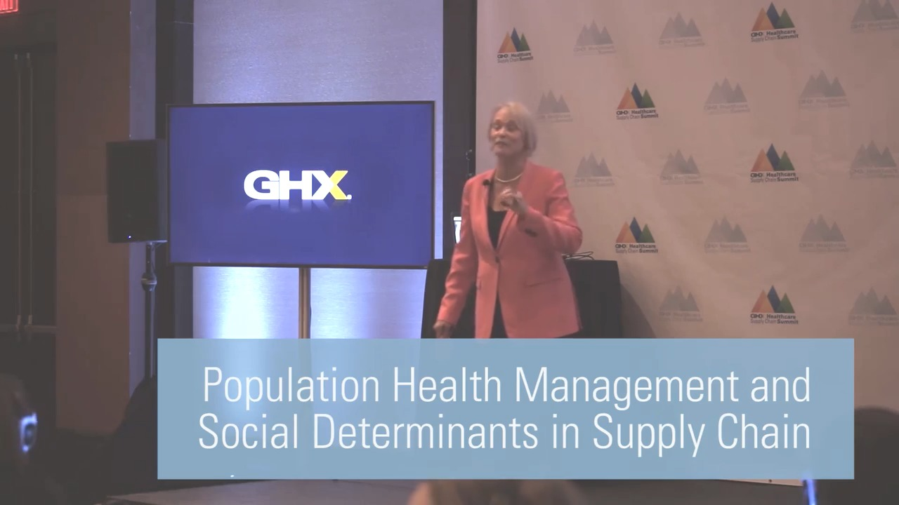Population Health Management and Social Determinants in Supply Chain
