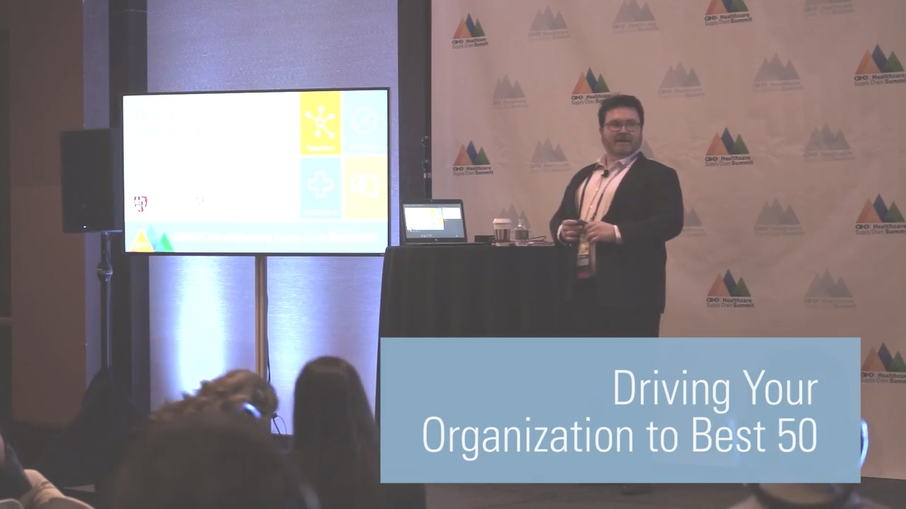 Driving Your Organization to Best 50