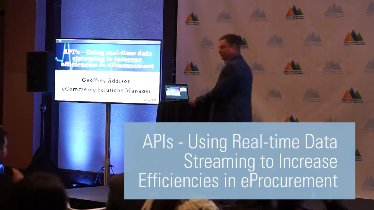 APIs - Using Real-time Data Streaming to Increase Efficiencies in eProcurement
