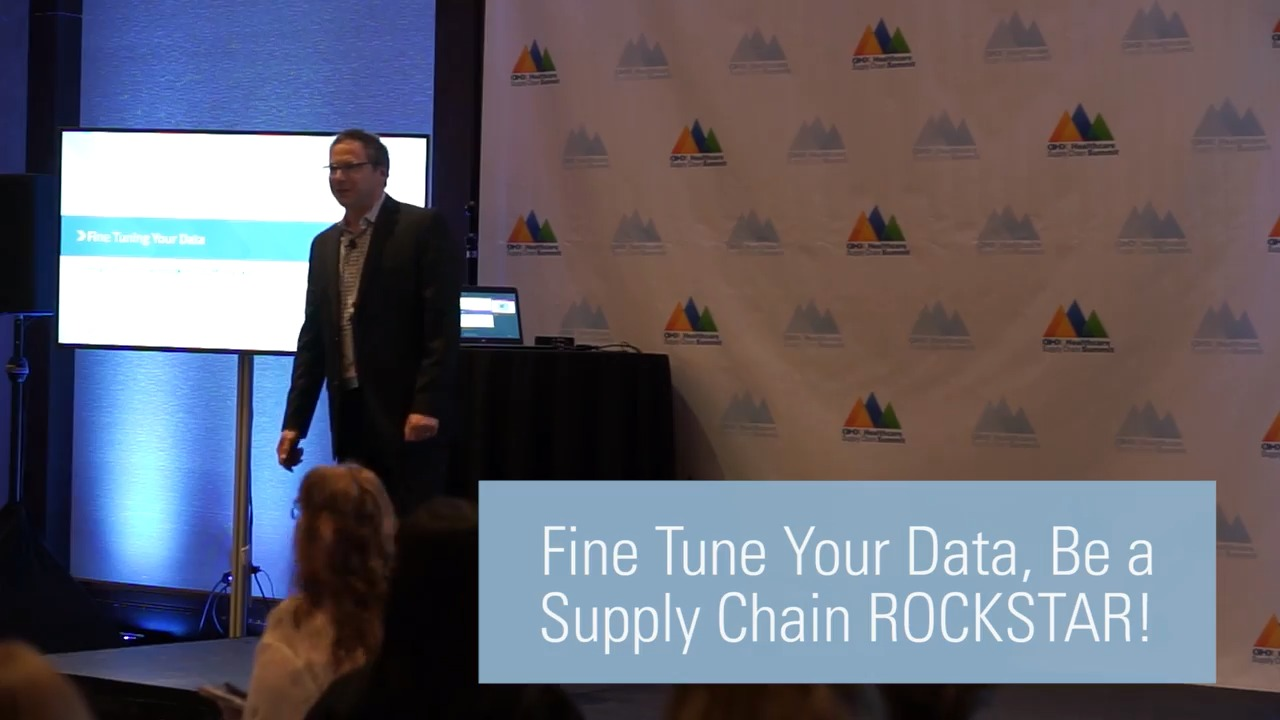 Fine Tune Your Data, Be a Supply Chain ROCKSTAR!