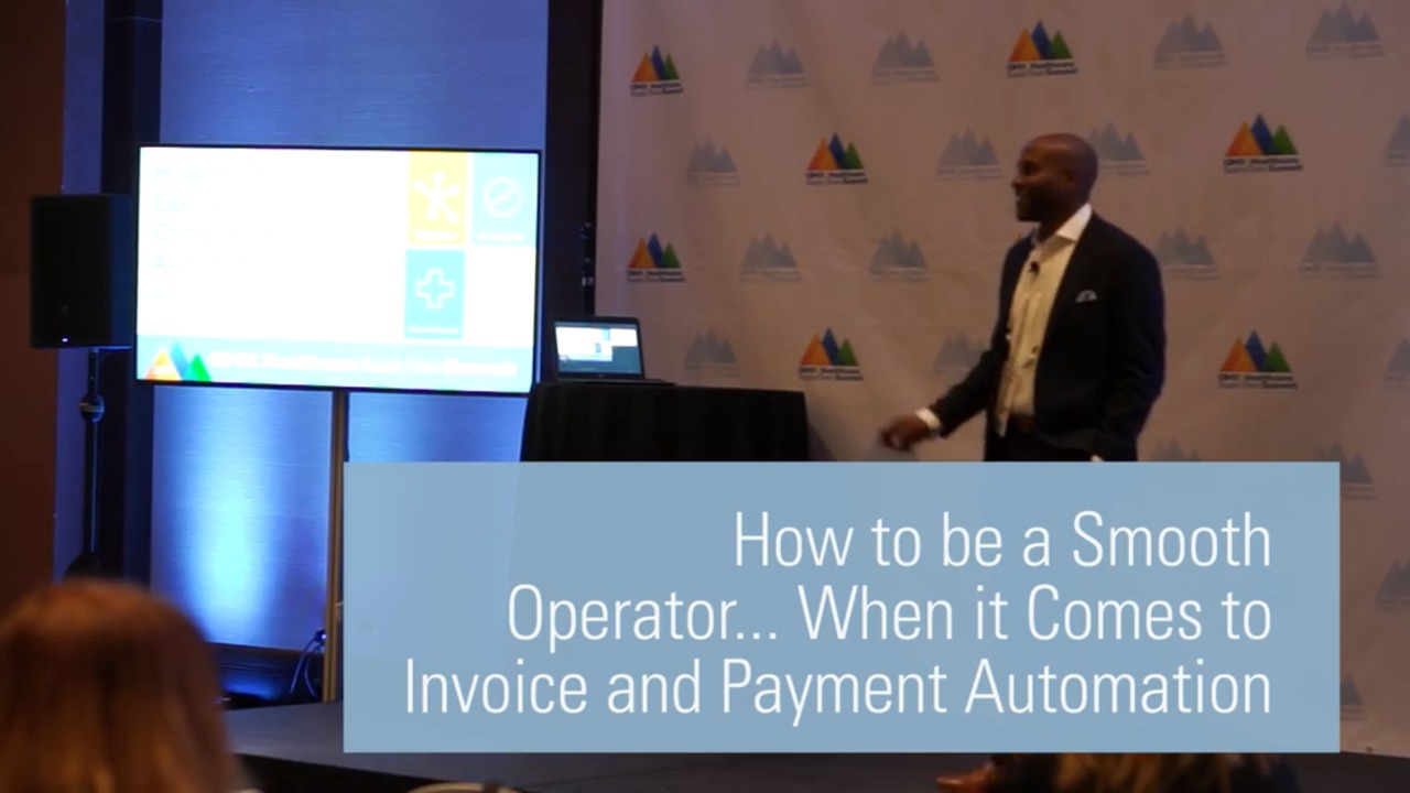 How to be a Smooth Operator... When it Comes to Invoice and Payment Automation