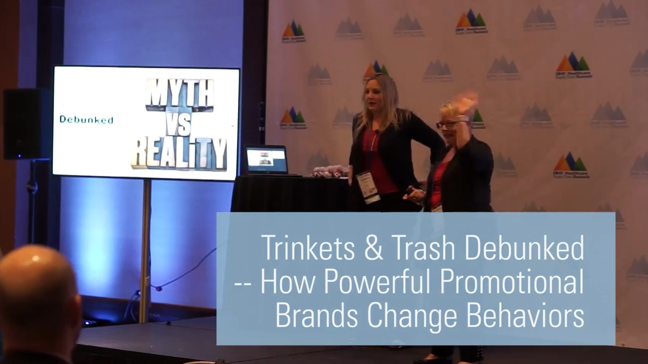 Trinkets & Trash Debunked -- How Powerful Promotional Brands Change Behaviors